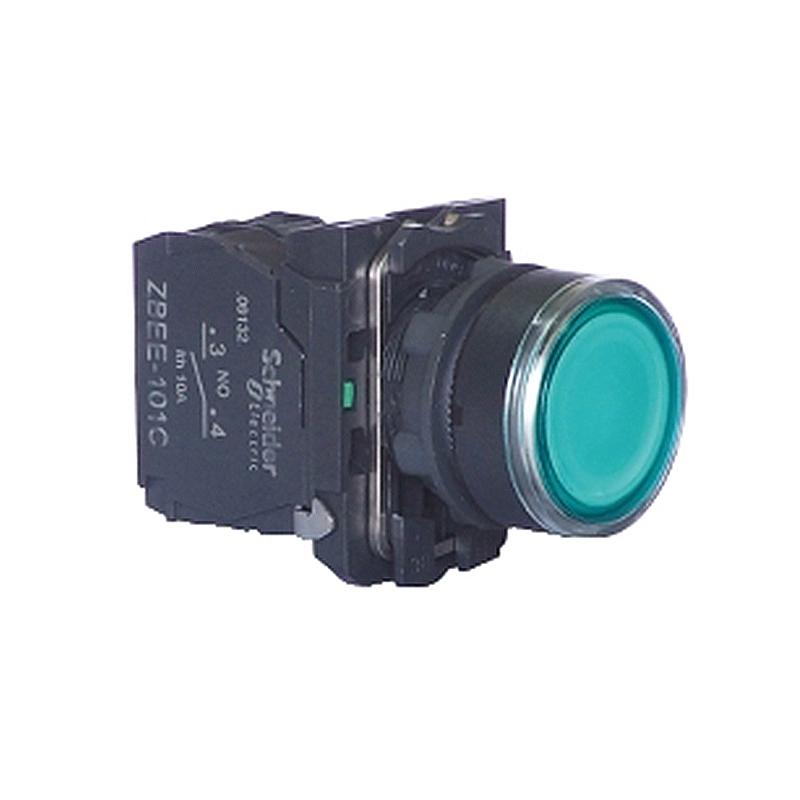 XB2BW带灯按钮